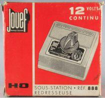 Jouef 888 Ho Sous-Station-Redresseuse 12V Continu Neuf Boite