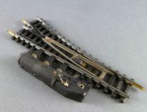 Jouef 88E Ech N Aiguillage Electrique à Droite Rails Acier 86 mm