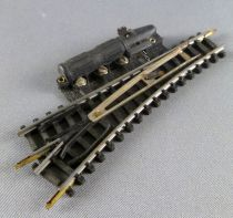 Jouef 89E N Scale Electric Point to Left Steel Tracks 86 mm