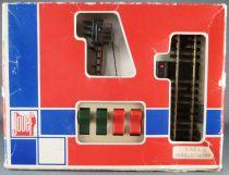 Jouef 9302 Ho Commande de Signal Manuelle Rails Maillechort Neuf Boite