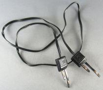 Jouef 9801 Ho Cordon Jonction Double Connecteur 2ème Version Etat Neuf