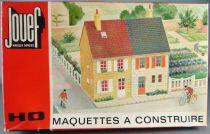 Jouef 983 (1983) Ho Sncf Bloc 2 Immeubles Pierre Neuf Boite