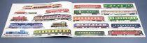 Jouef Ancien Catalogue Locomotives Vapeur Coffrets Voitures Circuit Routiers Etat Neuf