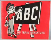 Jouef Booklet ABC Of Miniature Train 20 Pages 11x14cm