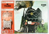 Jouef Catalog 1971-1972 Ho Trains Remote Controls Slot Cars Racing
