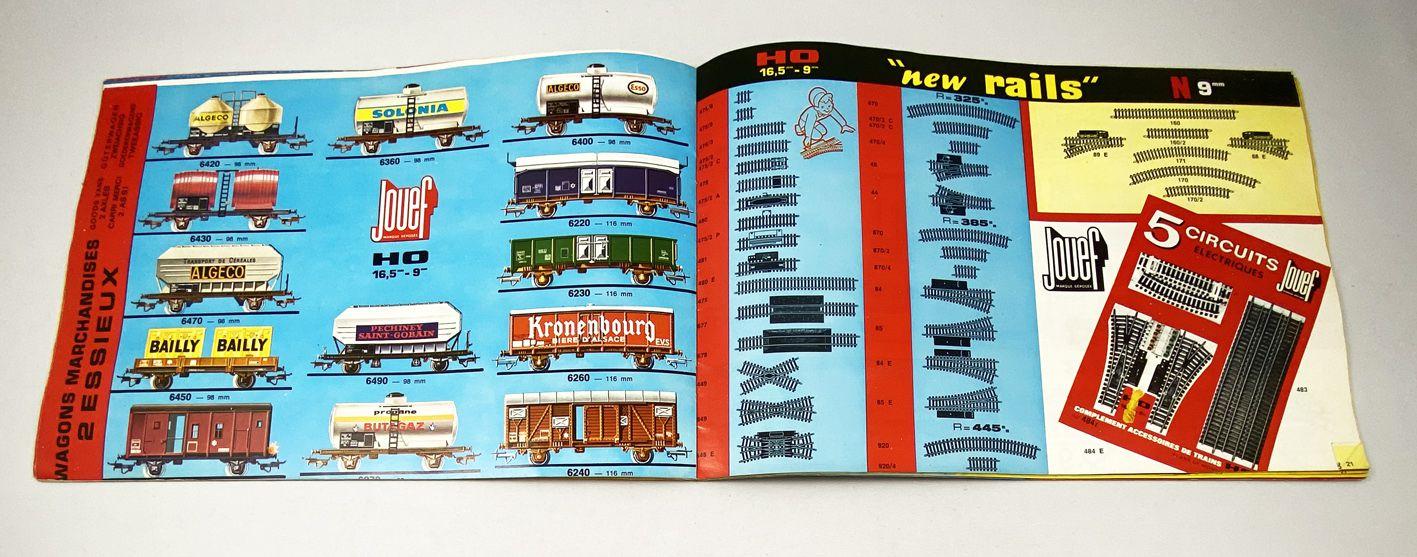 Jouef Catalogue 1969-70 Locomotives Vapeur Coffrets Record 64