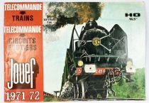 Jouef Catalogue 1971-1972 Trains Ho Télécommandes Circuits Routiers