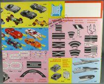 Jouef Catalogue Dépliant 1968 Locomotives Vapeur Coffrets Voitures Etat Neuf