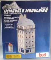 Jouef Champagnole 135200 Ho Sncf Immeuble Modulaire d\'Angle Toit Tuile ou Zinc Neuf Boite