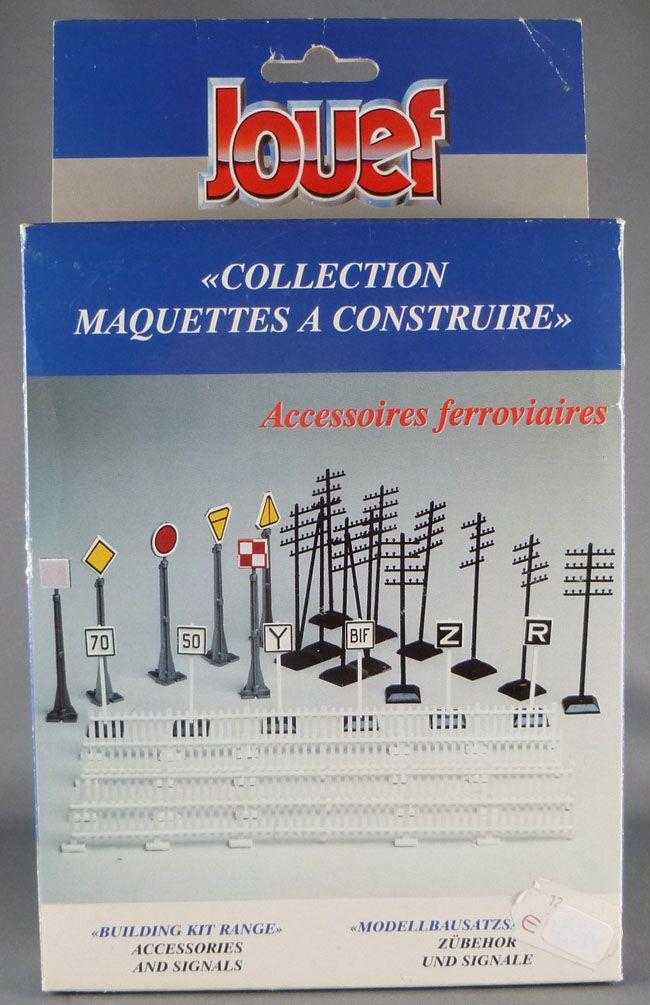 Jouef Champagnole 268600 Ho Sncf Accessoires & Signaux Barrières Poteaux Télégraphiques Boite