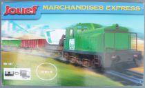 Jouef HJ1000 Ho Sncf Coffret Marchandises Express Loco Diesel 020 4228 Fret 3 Wagons