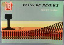 Jouef Ho Maps of  Railways Network Plans Pratical Manual
