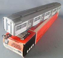 Jouef M866 Ho Sncf Remorque Centrale Eclairage Rame Inox Budd Boite