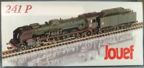 Jouef Prestige 824100 Ho Sncf Steam Loco 4-8-2 241 P7 Tender 36P20 Nevers Lightning Near Mint in box