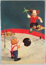 Jouets Cirque Clown - Carte Postale Vita Hollande