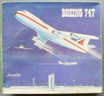 Joustra Ceji Réf 2896 - Avion Boeing F- 747 Tôle & Plastique Filoguidé en Boite