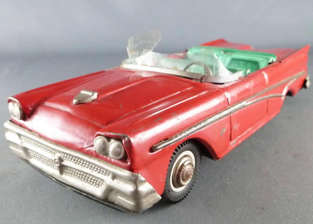 """Joustra Ref. 2049 - Ford Convertible Cadet Series Tin Friction 8\"""""""
