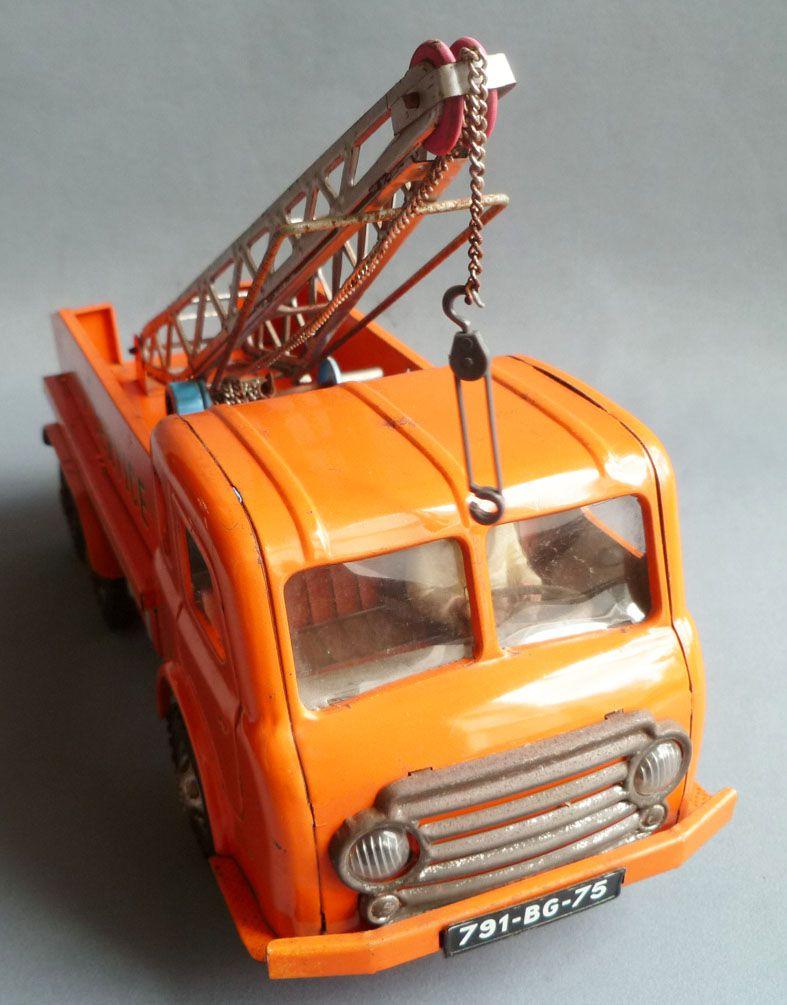 Joustra Réf 466 - Camion Dépannage Auto Service Tole Mécanique 44cm