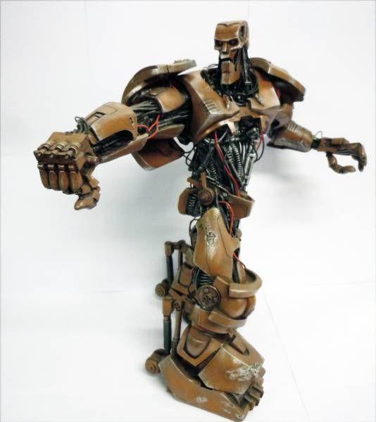 Judge Dredd - Halcyon Model Kit - Judge Dredd, Mean Machine & ABC War Robot
