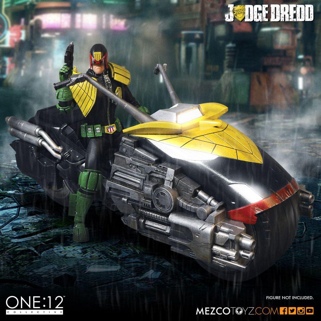 Judge Dredd\'s Lawmaster (Black Vers.) - MezcoToyz - Véhicule 1:12ème