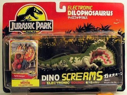 Jurassic Park - Dilophosaurus (Dino Screams) - Kenner