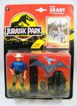 Jurassic Park - Kenner - Figurine Plastique - Alan Grant & filet de capture 01