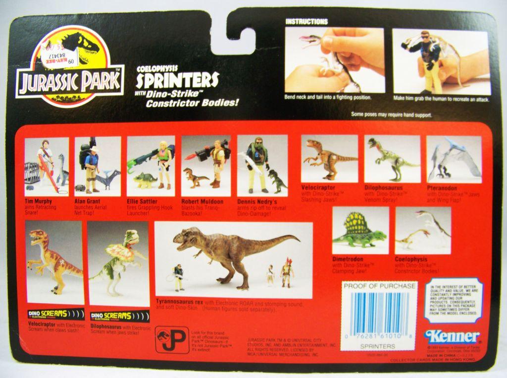 Jurassic Park - Kenner - Coelophysis (neuf sous blister) 02