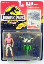 Jurassic Park - Kenner - Ellie Sattler & lance grappin (Neuf sous Blister)