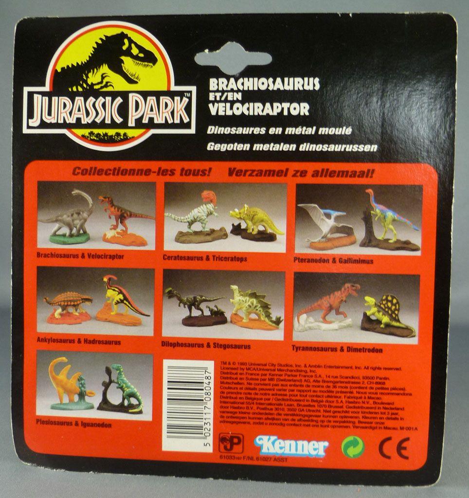 jurassic_park___kenner___figurine_metal___brachiosaurus___velociraptor_neuf_blister_2