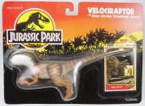 Jurassic Park - Kenner - Velociraptor (Mint on card)