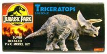 Jurassic Park - Triceratops 1:28 scale Super Detailed PVC  Model Kit - Hobby Tsukuda