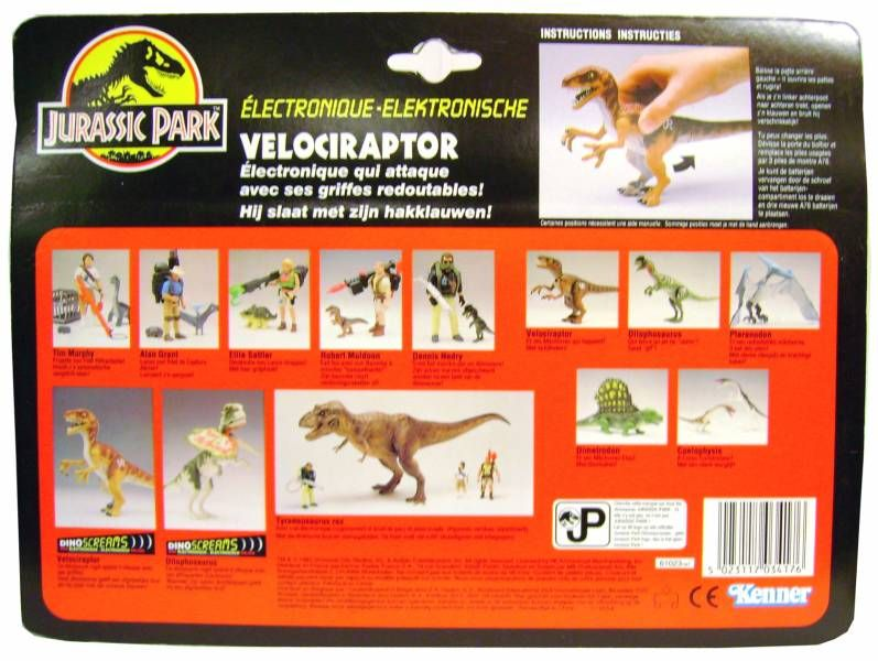 Jurassic Park - Velociraptor (Dino Screams) - Kenner