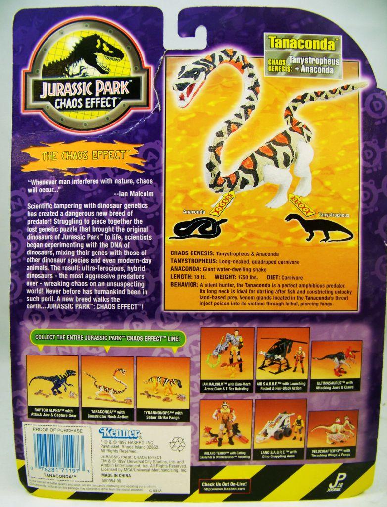 Jurassic Park (Chaos Effect) - Kenner - Tanaconda (neuf sous blister) 02