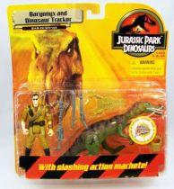Jurassic Park (Dinosaurs) - Hasbro - Baryonyx and Dinosaur Tracker (mint on card)