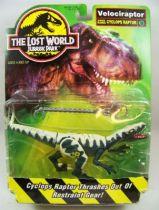 Jurassic Park 2 Le Monde Perdu - Kenner - Velociraptor (neuf sous blister) 01