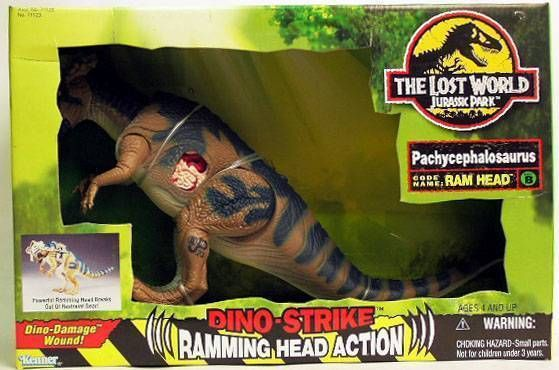 Jurassic Park 2: The Lost World - Pachycephalosaurus - Kenner