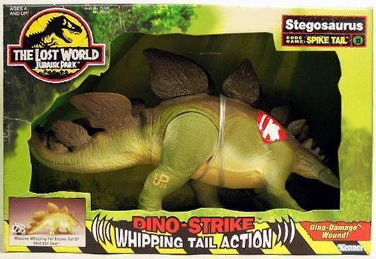 Jurassic Park 2: The Lost World - Stegosaurus - Kenner