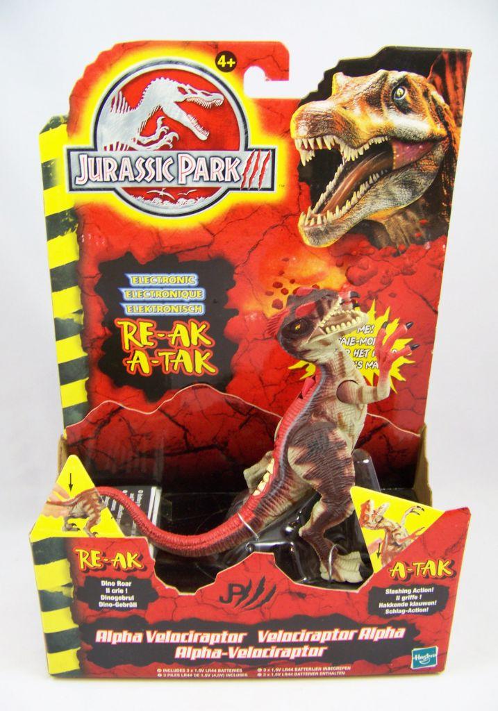 Jurassic Park 3 Velociraptor Toy Jurassic Park 3 - Hasb...