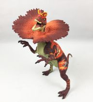 "Jurassic Park Hasbro (2009) - Dilophosaurus ""Battle Growlers\"" (Electronic) Loose"