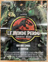 Jurassic Park Le Monde Perdu - Affiche 40x60cm - Universal Pictures 1997
