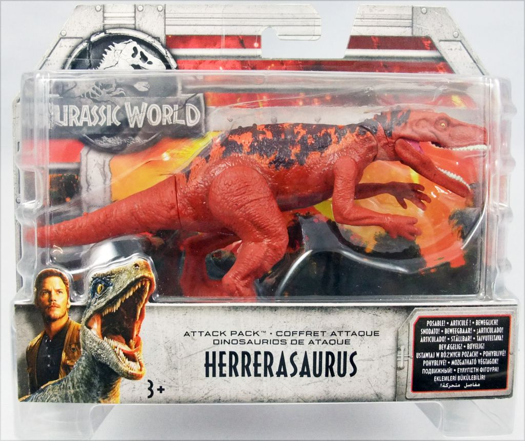 Jurassic World Attack Pack Herrerasaurus Figure