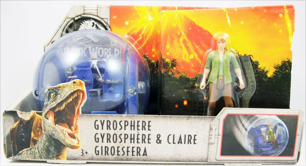 Jurassic World - Mattel - Gyrosphère & Claire