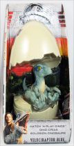 Jurassic World - Mattel - Hatch \'n Play Dinos Velociraptor Blue
