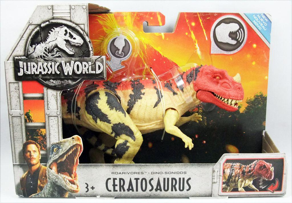 Jurassic World - Mattel - Roarivores Ceratosaurus