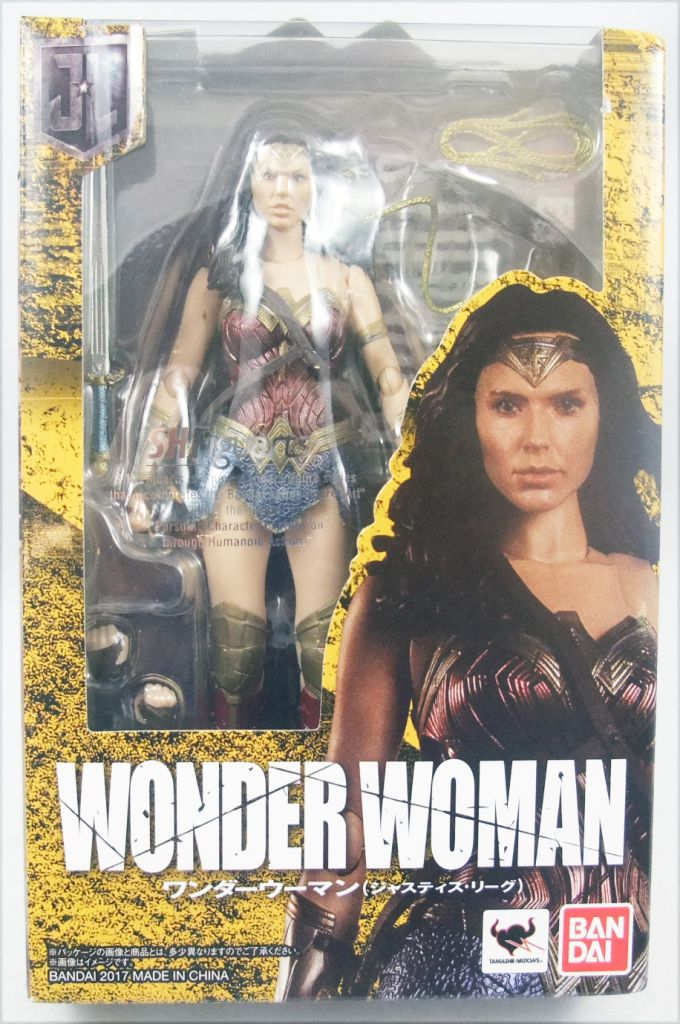 Bandai Japan NEW *** SH S.H Figuarts Wonder Woman JUSTICE LEAGUE