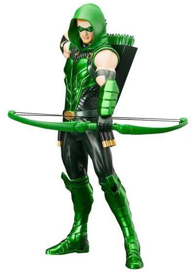Justice League The New 52 Green Arrow ArtFX Statue