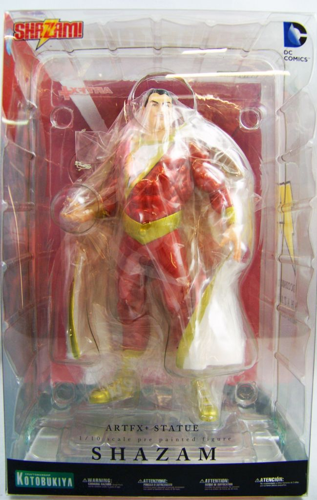 Justice League The New 52 Shazam ArtFX Statue - Kotobukiya 01