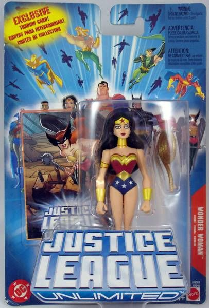 Justice League Unlimited - Wonder Woman