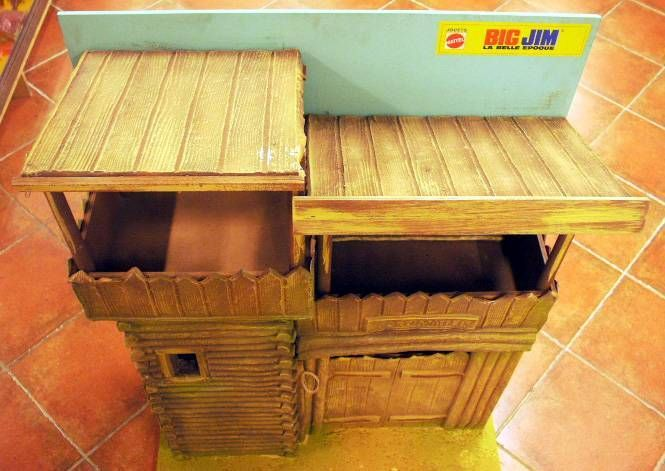Karl May - Mint in original shipping box 1977 Store Display Fort Mattel