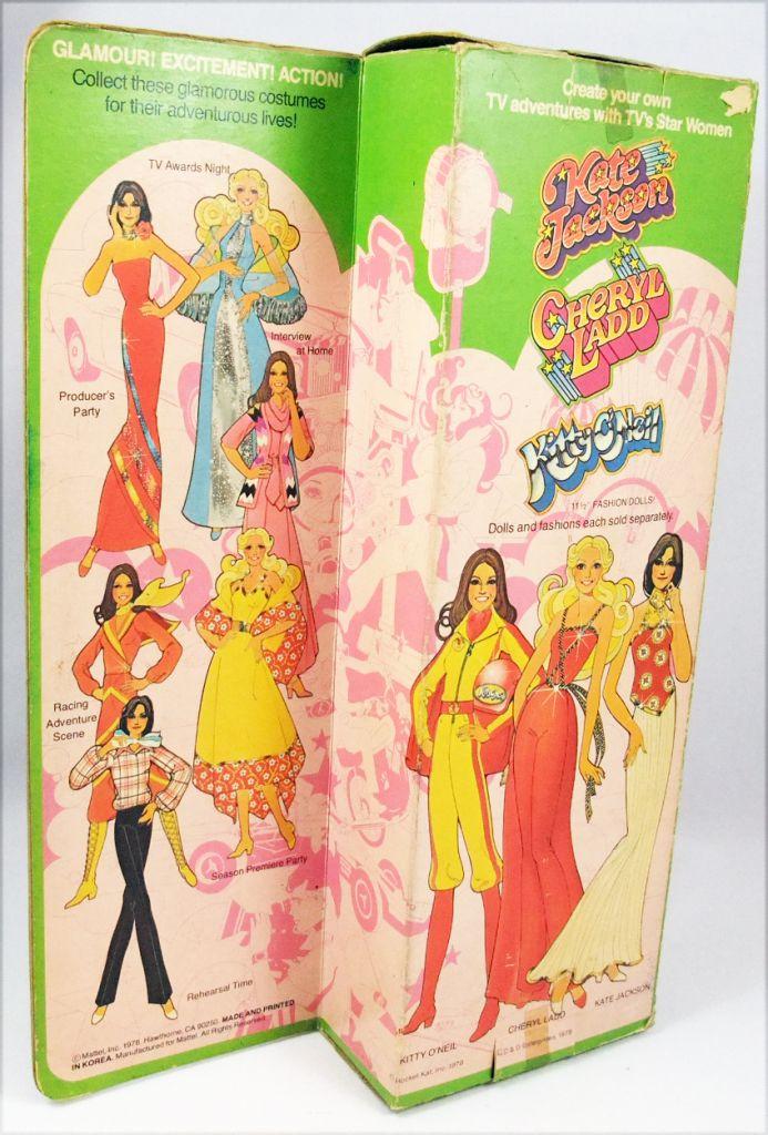 "Kate Jackson - \""TV\'s Star Women\"" fashion doll - Mattel 1978"